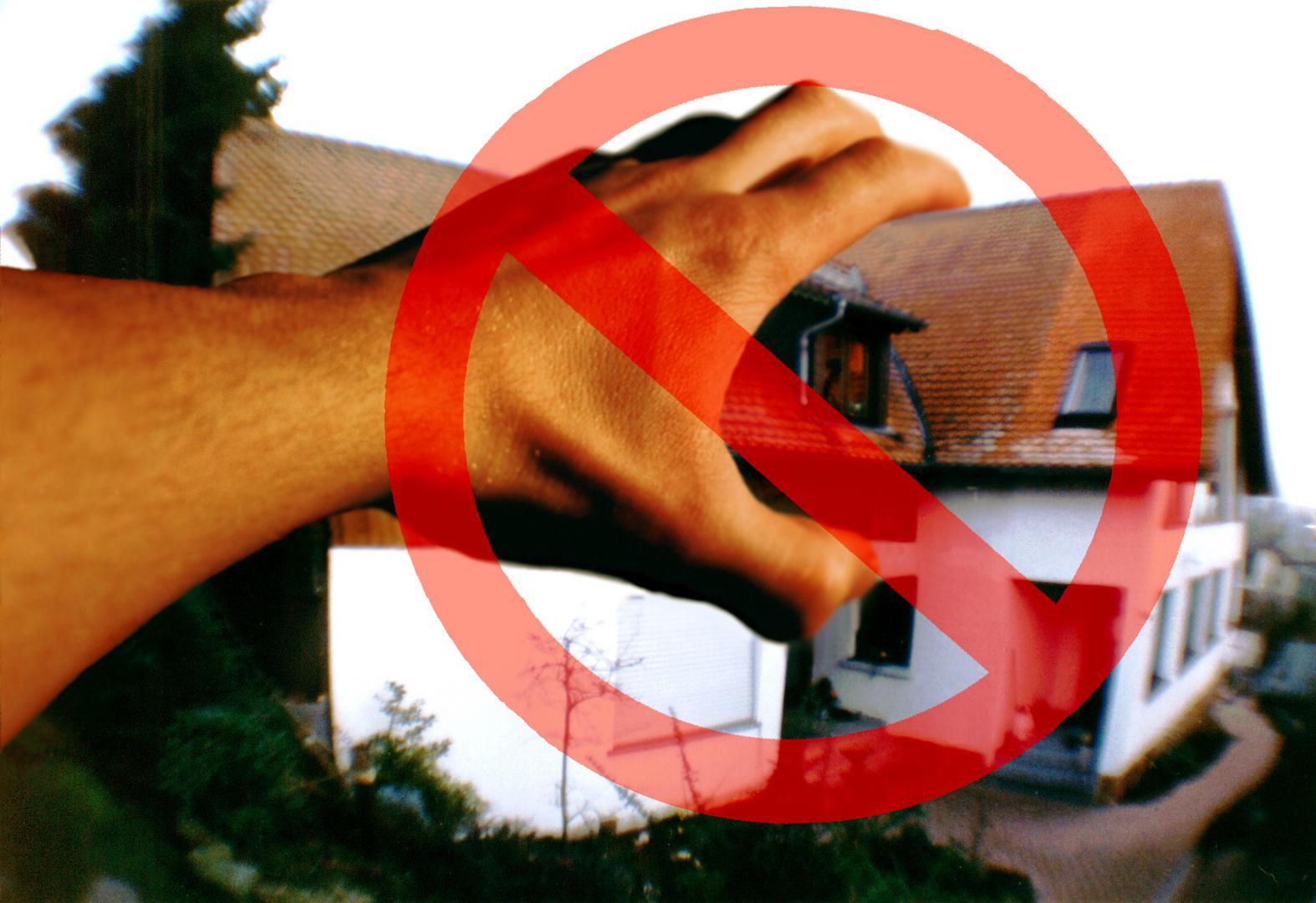 Du sollst nicht begehren deines Nächsten Haus!