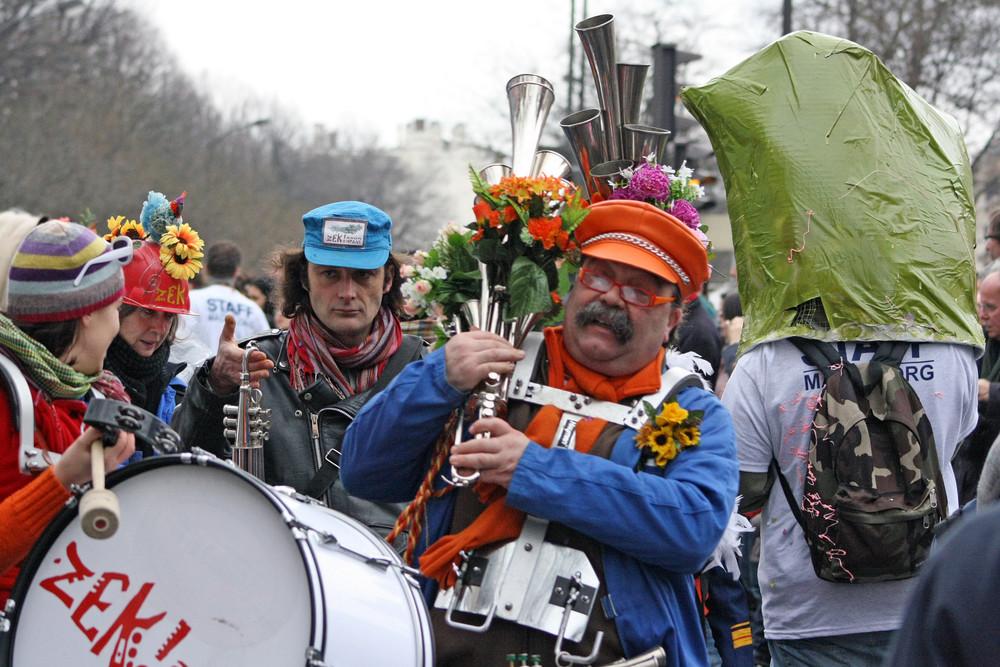 du son autour du carnaval