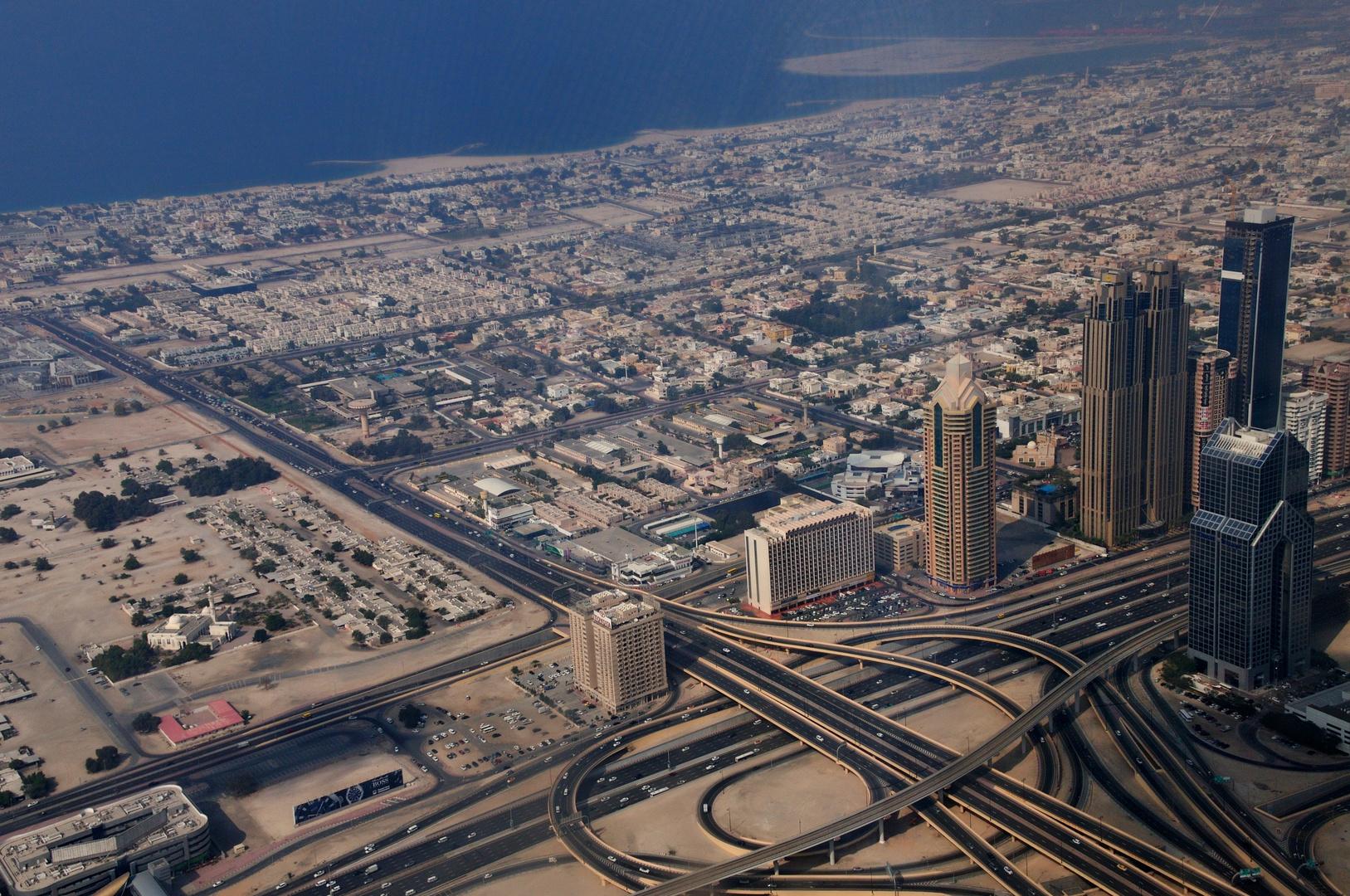 Dubai auf Sand gebaut