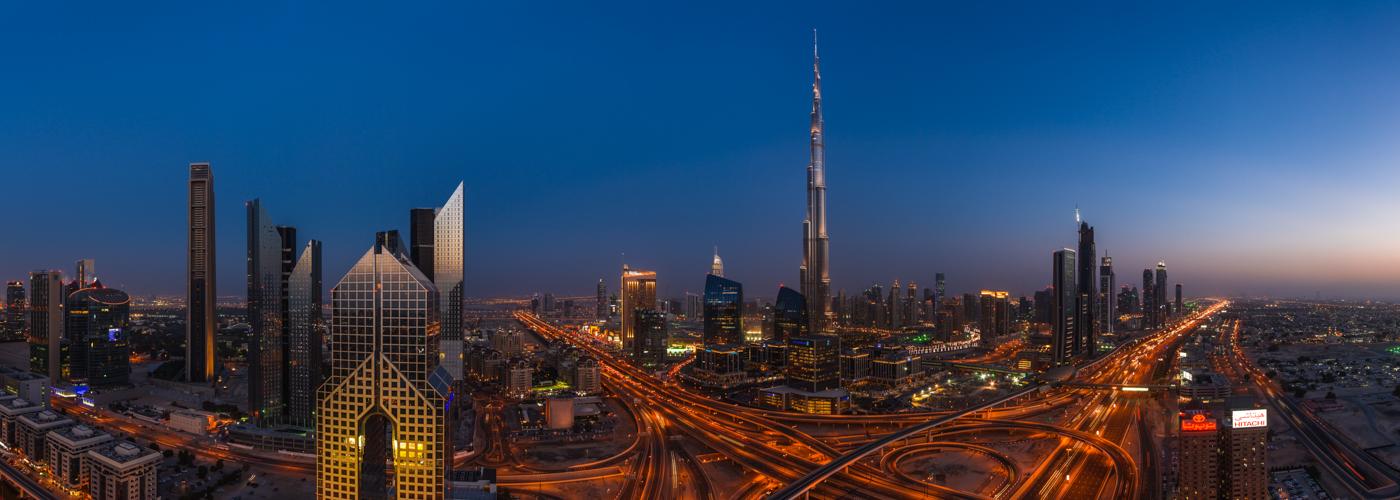 Dubai - Burj Khalifa Panorama