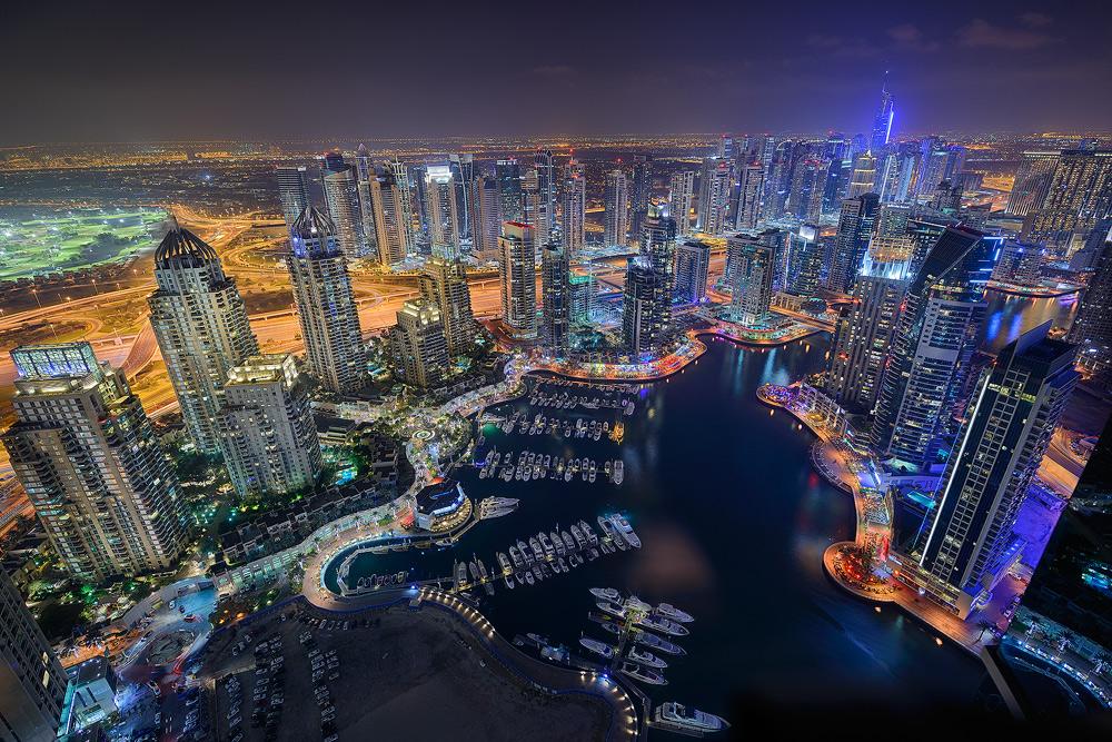 ... Dubai City Lights ...