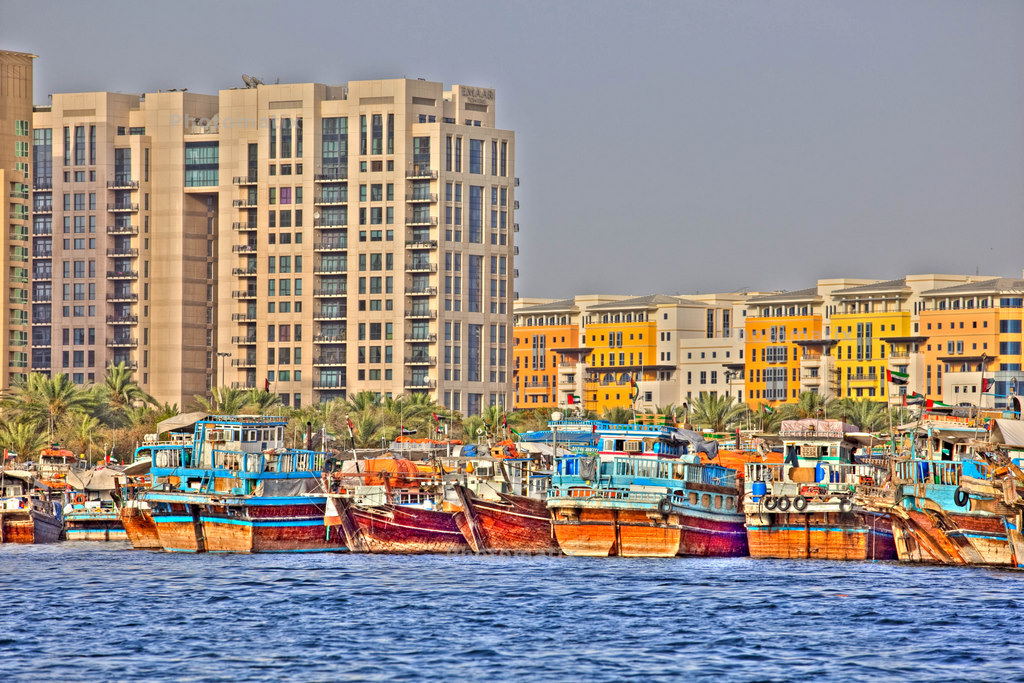 Dubai creek essai HDR