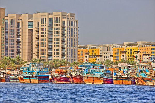 Dubai creek essai HDR