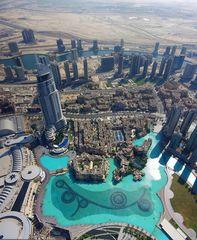 Dubai der Blick so weit...