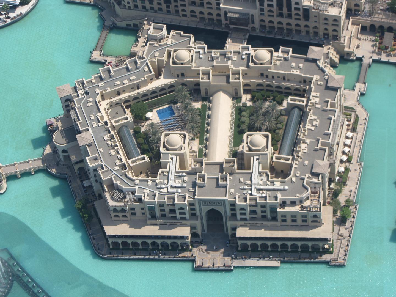 Dubai Down-Town vom Burj Khalifa gesehen