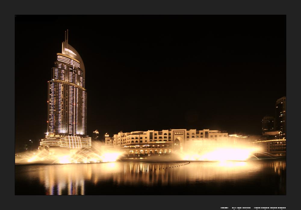 Dubai Fountain and The Address