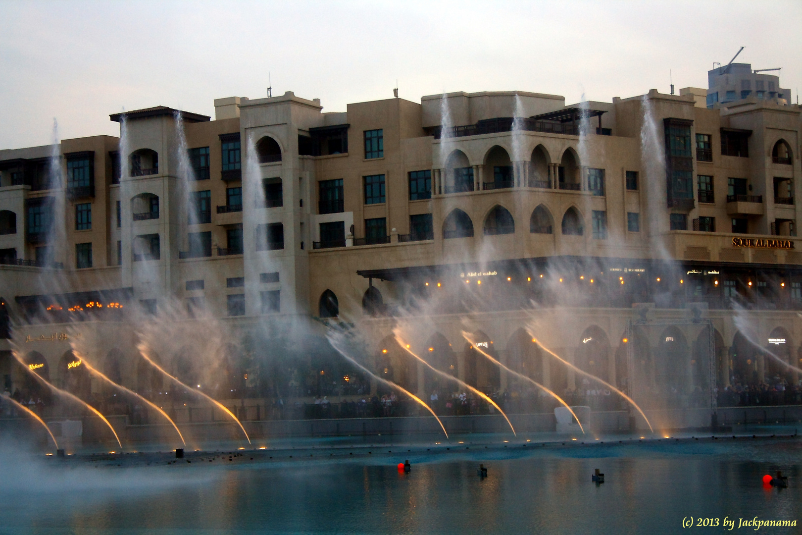 Dubai Fountain – die größten Wasserspiele der Welt