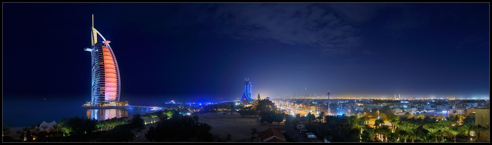 ... Dubai Jumeirah Panorama ...