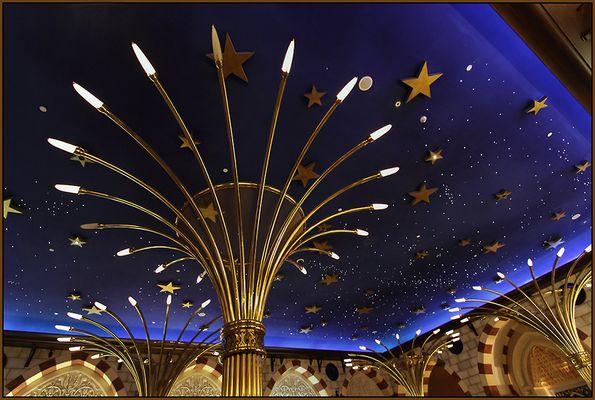 Dubai Mall  -  Decke des Gold Souk
