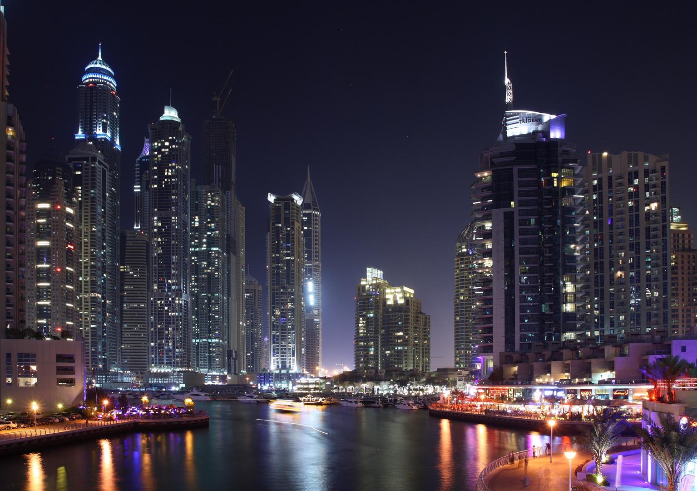 -Dubai Marina-