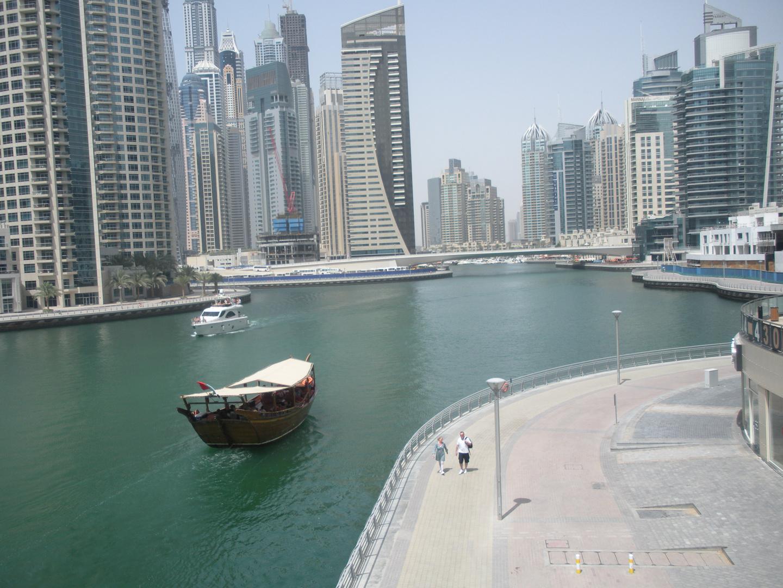 Dubai Marina + Dhau