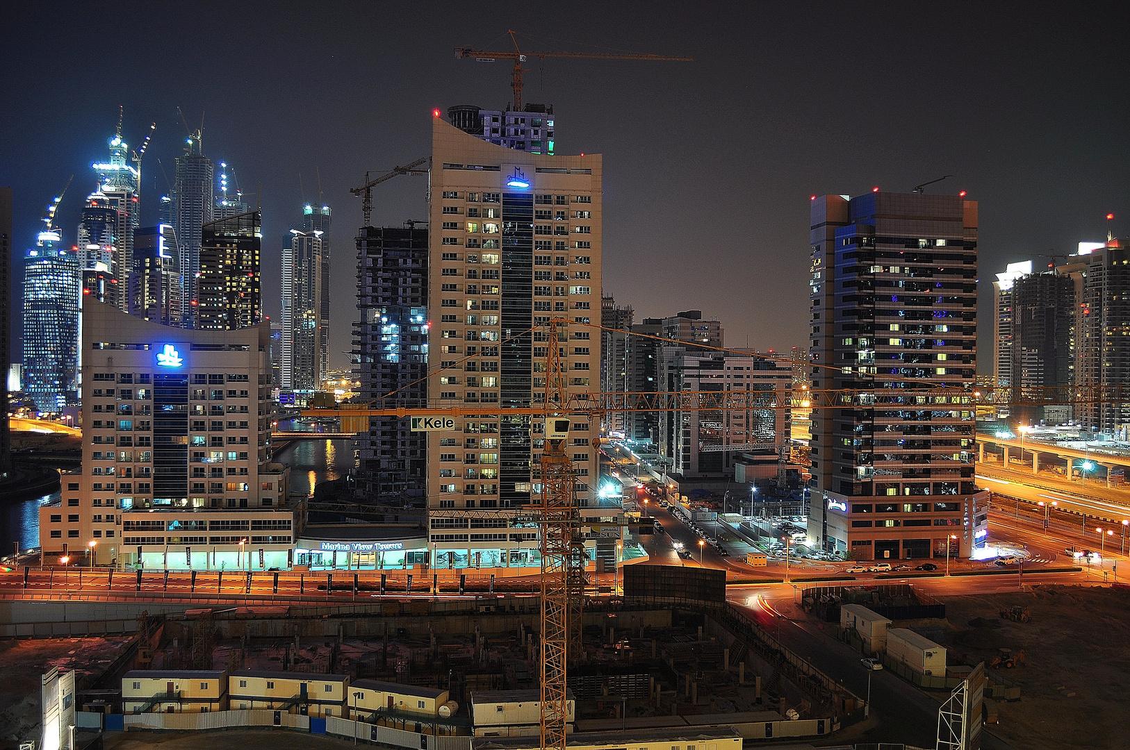 Dubai Marina - Grundstein Tower