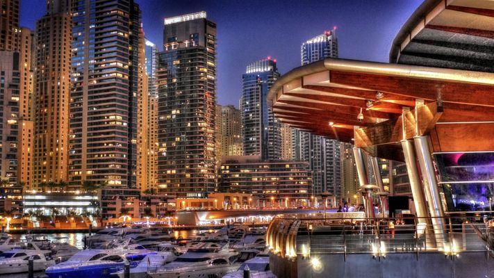 Dubai Marina HDR