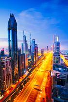 Dubai Morning Glow