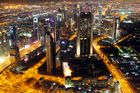 Dubai Nacht aus 450m