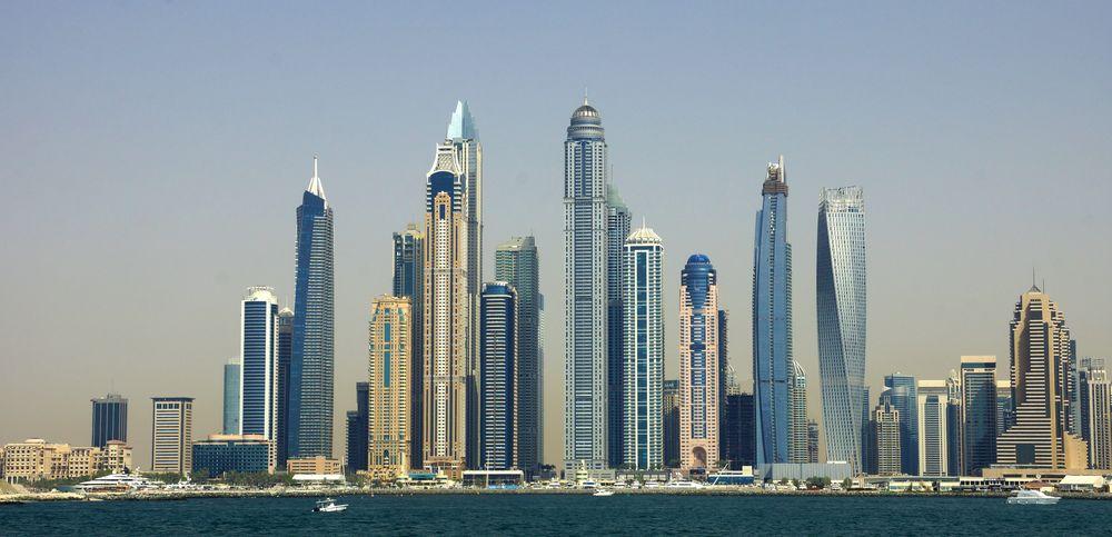 Dubai Skyline am Tag