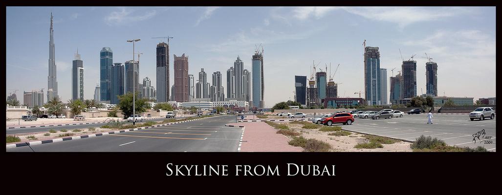 Dubai Skyline (Burj Dubai)