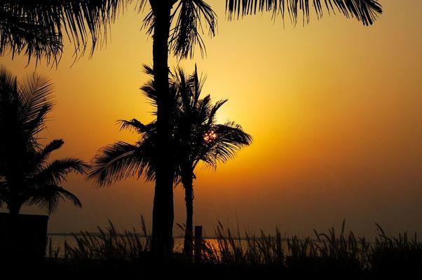 Dubai - Sonnenuntergang