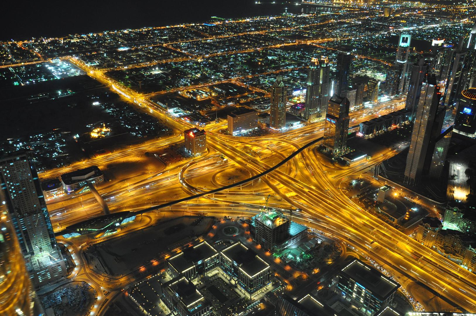 Dubai vom Burj Khalifa