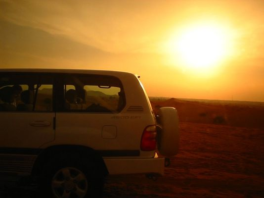Dubai: Wüstentour