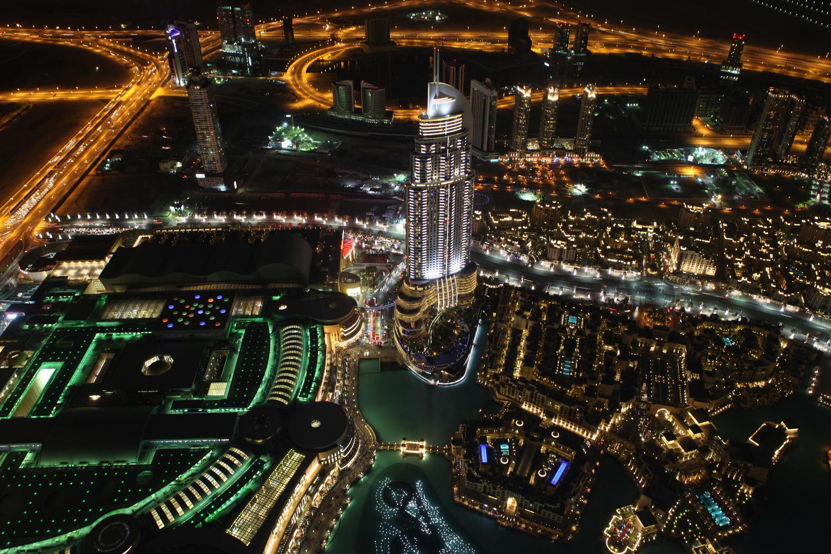 Dubais nächtliche Pracht