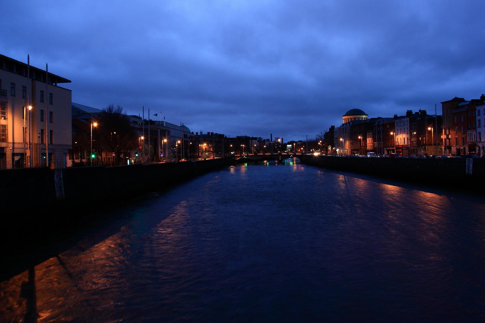 Dublin bei Nacht
