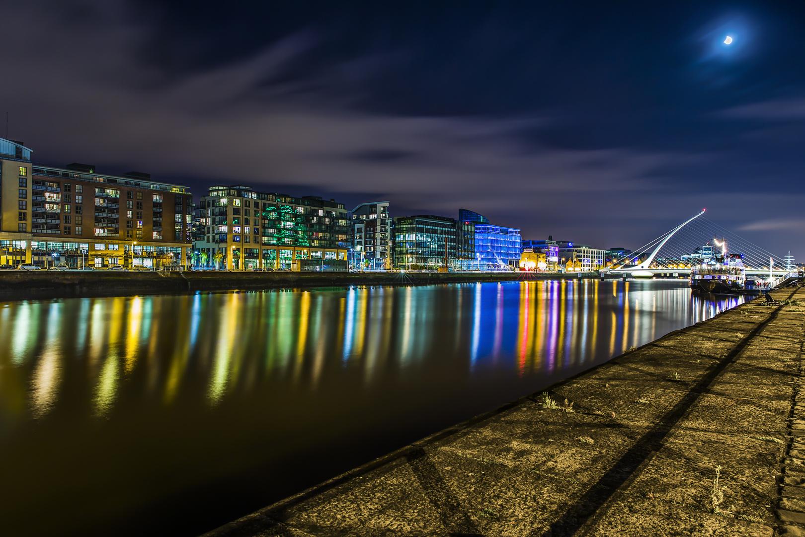 Dublin Nachtansicht