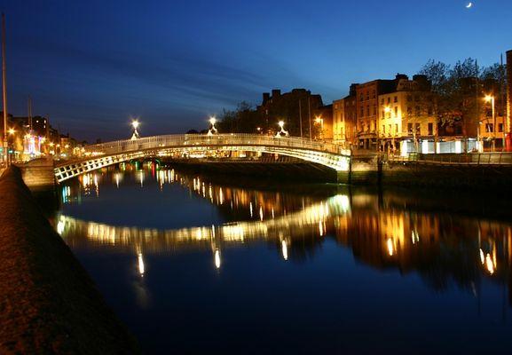 Dublin night / Dublin-Nacht