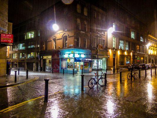 Dublin sous la pluie