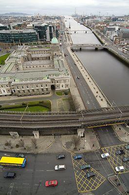 Dublin - soweit das Auge reicht