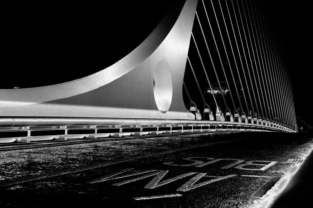 DUBLIN_Harp-Bridge@night