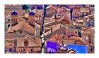 Dubrovnik Altstadt frische Wäsche über alten Dächern