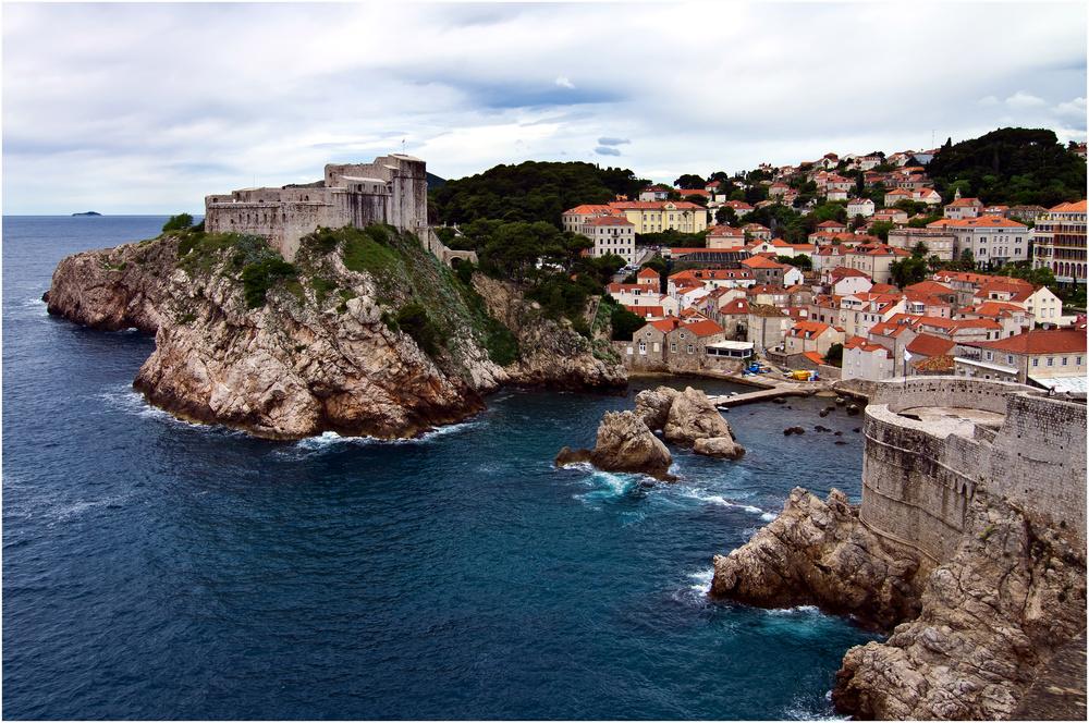 Dubrovnik, Blick von der Stadtmauer