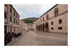 Dubrovnik Early Morning Rector's Palace