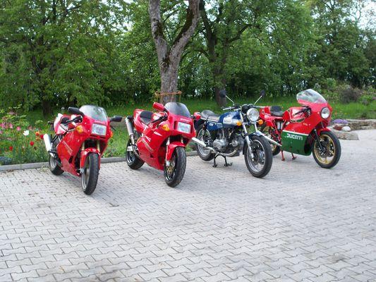 Ducati 600SS, 851, 860 GTS, 900 SS Mike Hailwood Replica