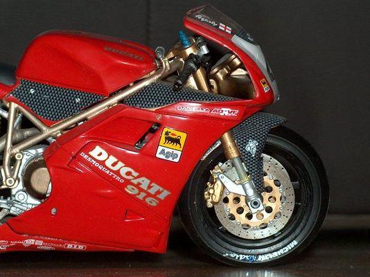 Ducati 916 SPS Fogarty Eigenbau