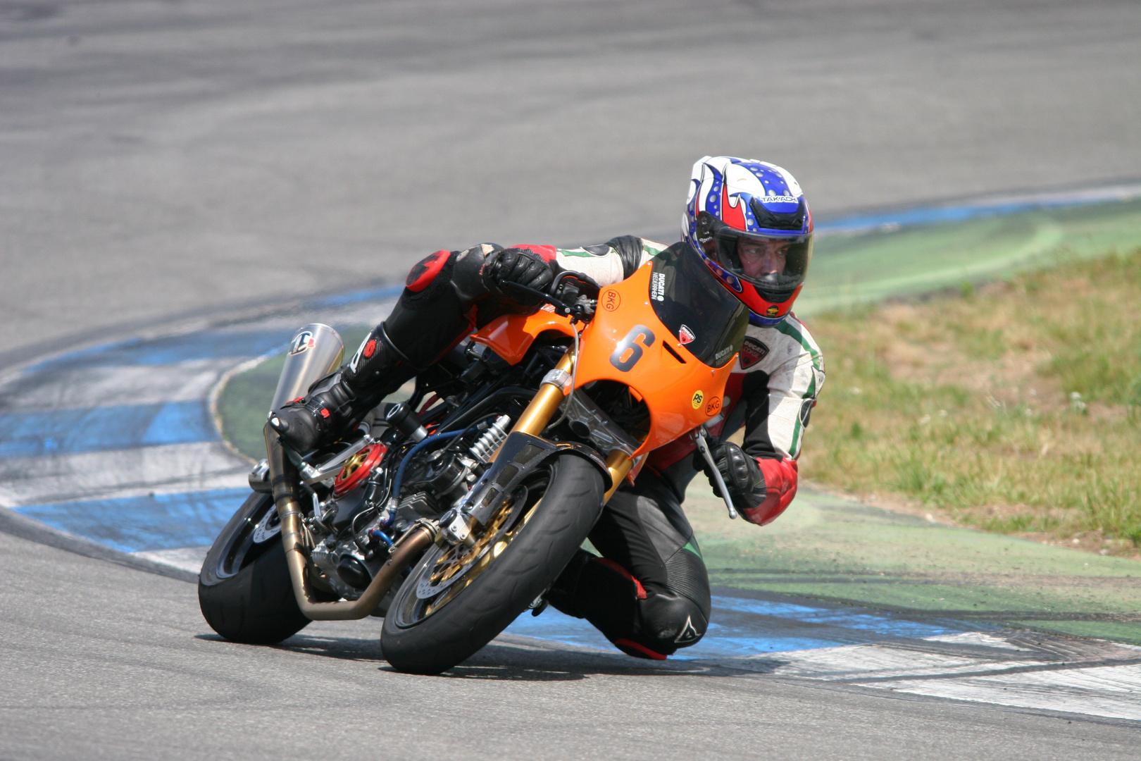 Ducati im Einsatz