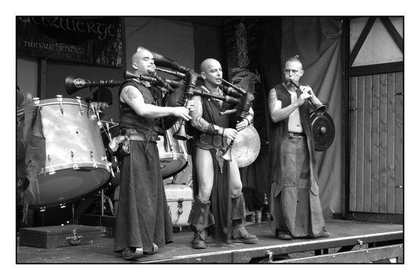Dudelzwerge live in Herne beim Ritterfest