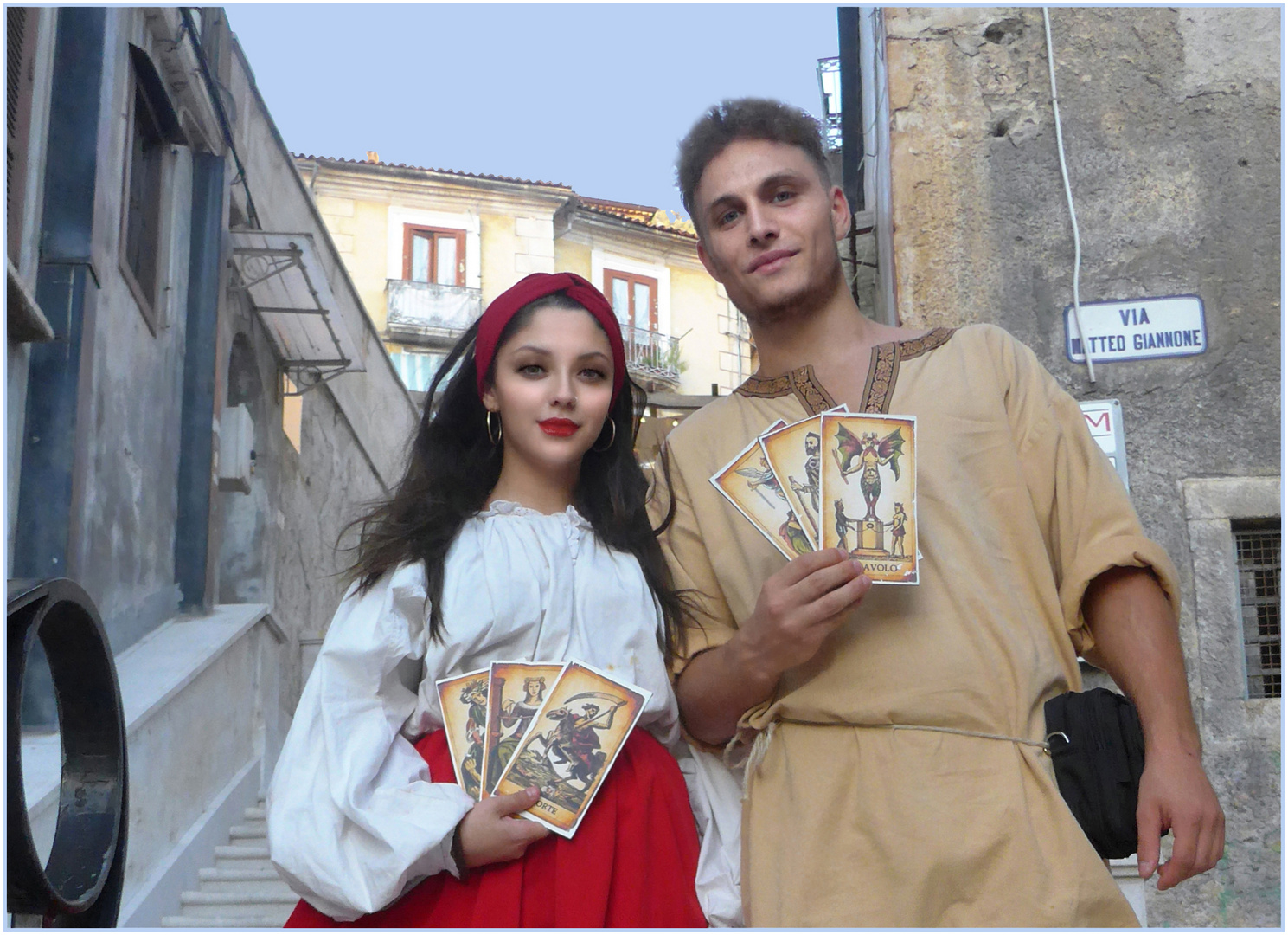 Due ragazzi del 1500 - Rievocazione storica dell'Imperatore CARLO V