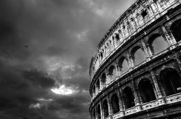 """""""Due Rome sono cadute..."""