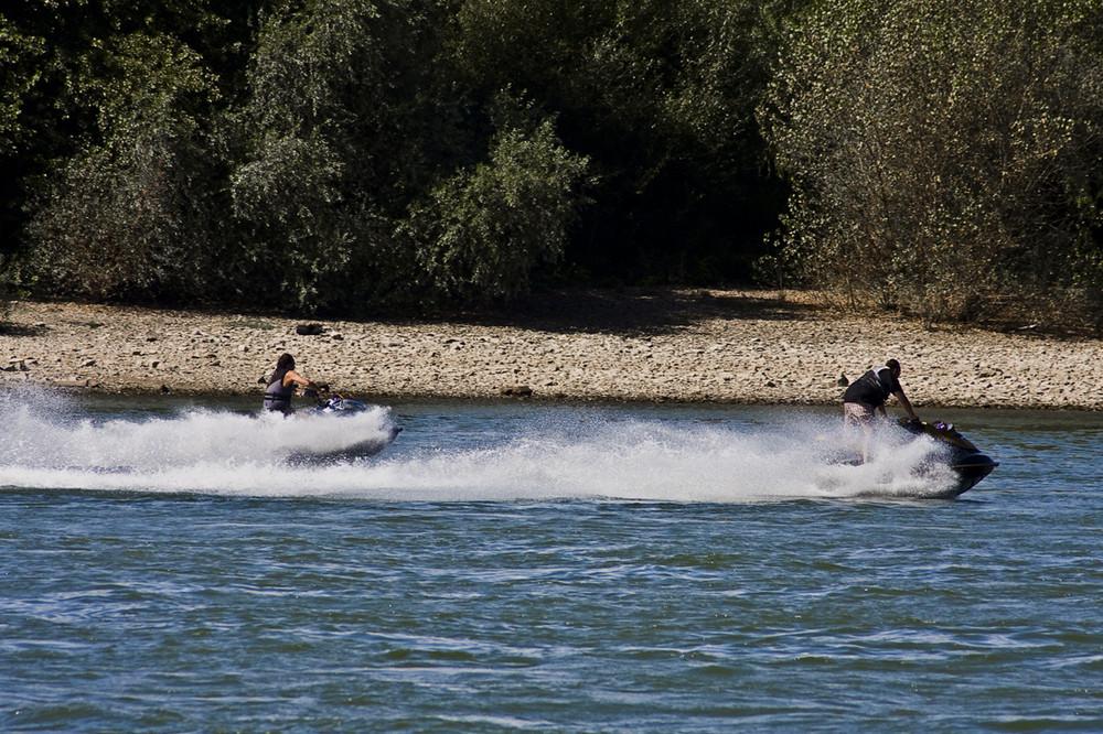 Duell am Rhein