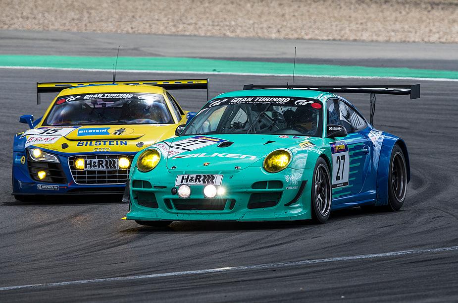 Duell Porsche-Audi