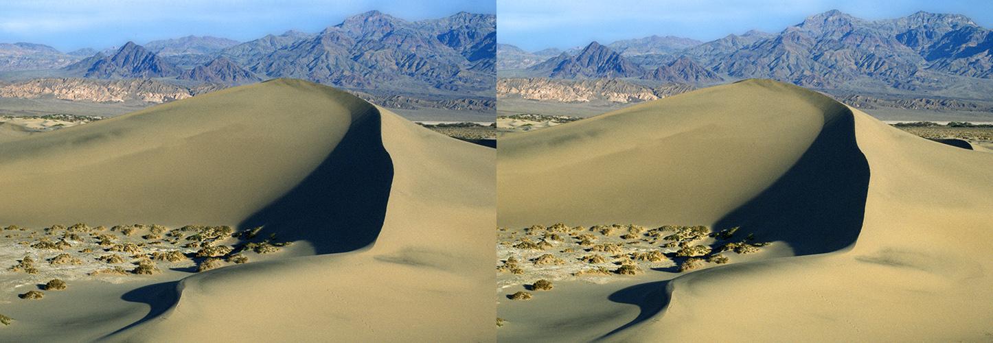 Düne im Death Valley