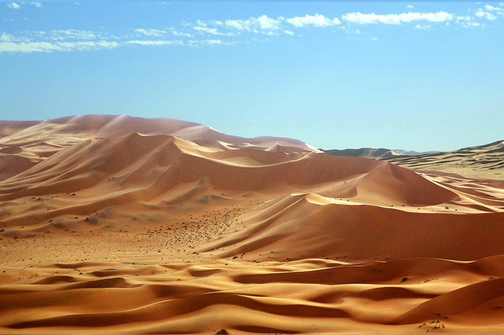 Dünen 30km nördlich des Soussusvlei, Luftbild.