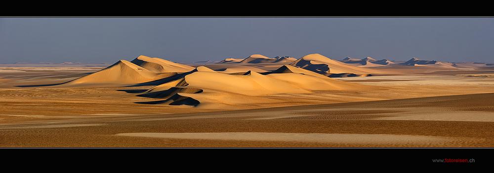 Dünen der Weissen Wüste