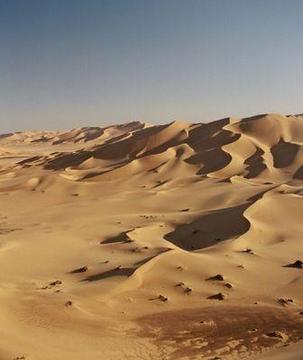 Dünen von Titersin, Libyen
