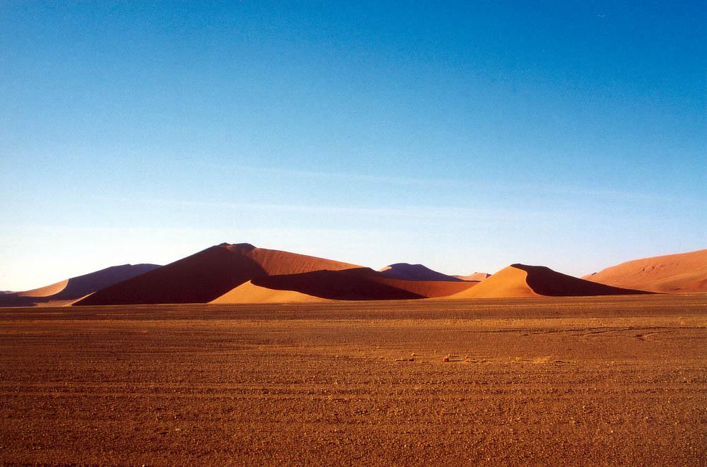 Dünenlandschaft auf dem Weg zum Sossusvlei