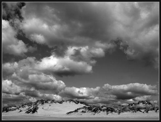 Dünenlandschaft Camiers sur Mer