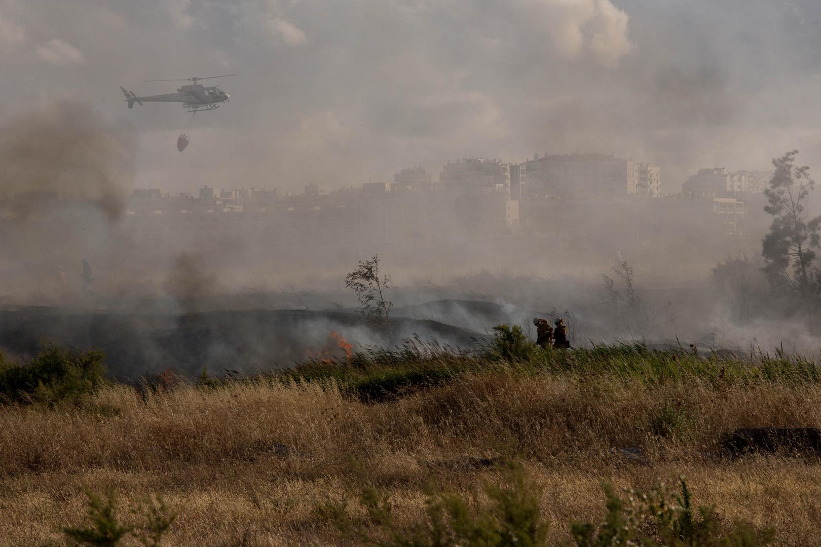 Dürrebrand am Rio Arade