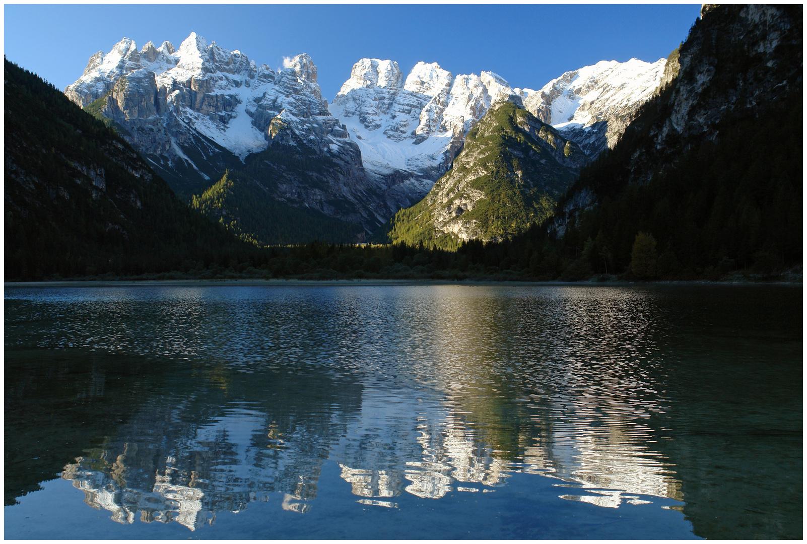 Dürrensee Monte Cristallo Dolomiten